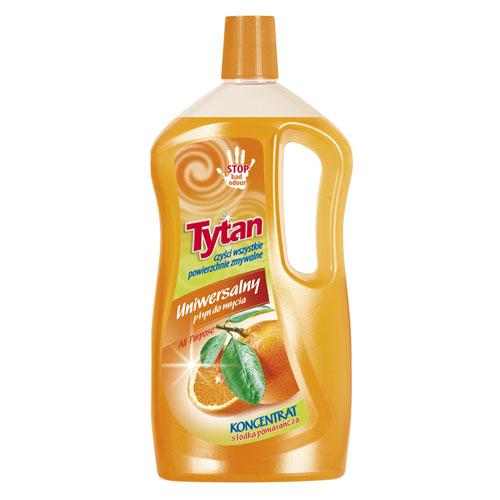 Uniwersalny płyn do mycia słodka pomarańcza Tytan koncentrat 1 kg