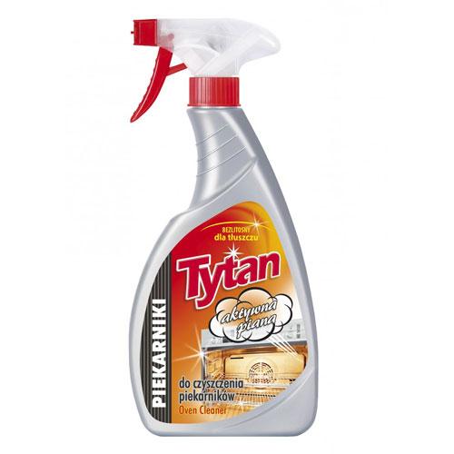 Жидкость для мытья духовки Титан  спрей