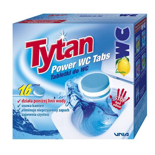 Tabletki do WC Tytan Power Tabs 16 szt.