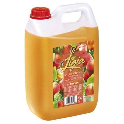Mydło w płynie Ligia zapach brzoskwiniowy