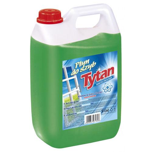 Płyn do mycia szyb luster Tytan nanotechnologia 5l