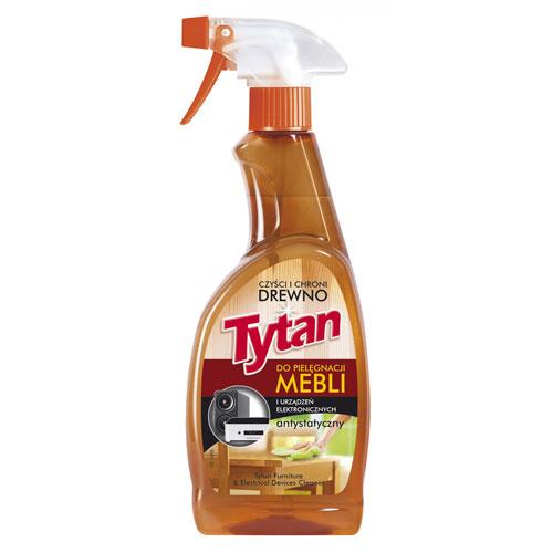 Preparat do pielęgnacji mebli i urządzeń elektronicznych Tytan antystatyczny spray