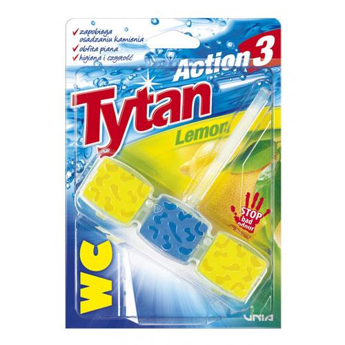 Tytan Action 3 Lemon Туалетная унитаз-куб 45г
