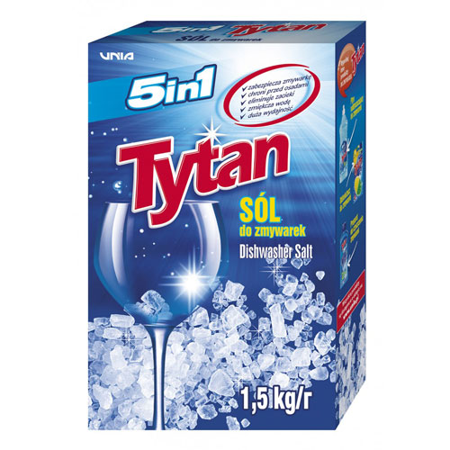 Salt for dishwashers Titan 5in1 - 1.5kg