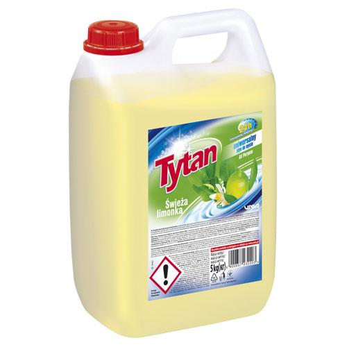 Uniwersalny płyn do mycia Tytan ŚWIEŻA LIMONKA 5 kg