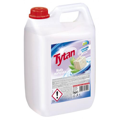 Универсальная жидкость для мытья Титан марсельское мыло 5кг