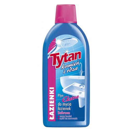 Płyn do mycia łazienek Tytan kamień i rdza ekstra