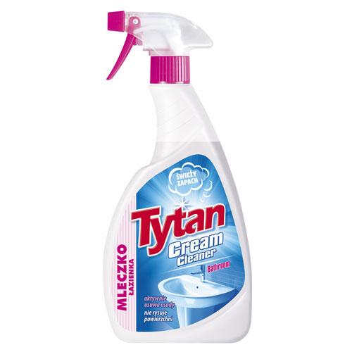 Mleczko do czyszczenia łazienki Tytan spray