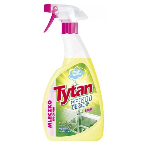 Mleczko do czyszczenia kuchni Tytan  spray 500g