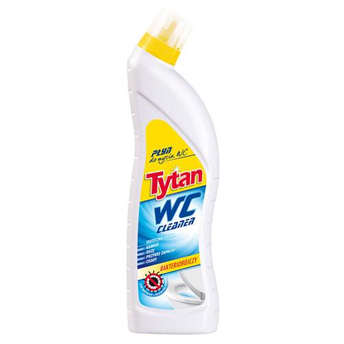 Płyn do mycia toalety WC Tytan żółty 700g