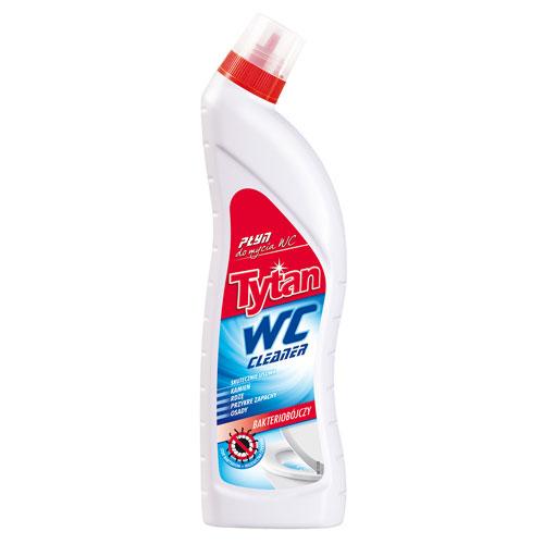 Płyn do mycia toalety WC Tytan czerwony 700g
