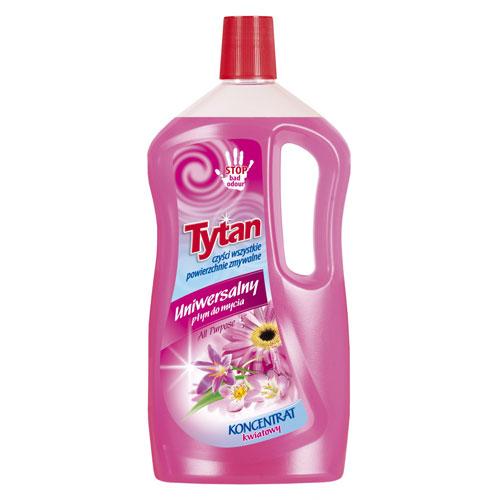 Uniwersalny płyn do mycia kwiatowy Tytan koncentrat 1 kg