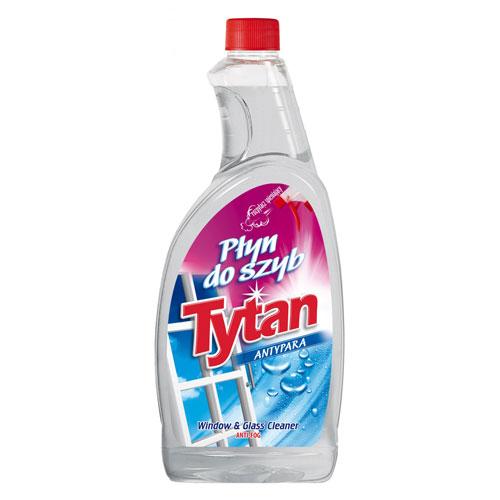 Płyn do mycia szyb antypara Tytan zapas