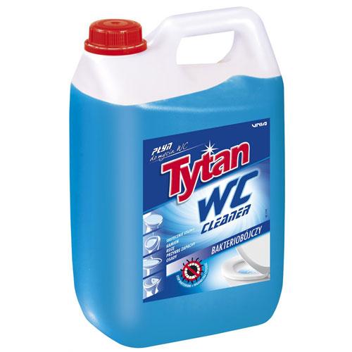 Płyn do mycia toalety WC Tytan niebieski 5kg