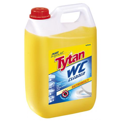 Płyn do mycia toalety WC Tytan żółty 5 kg