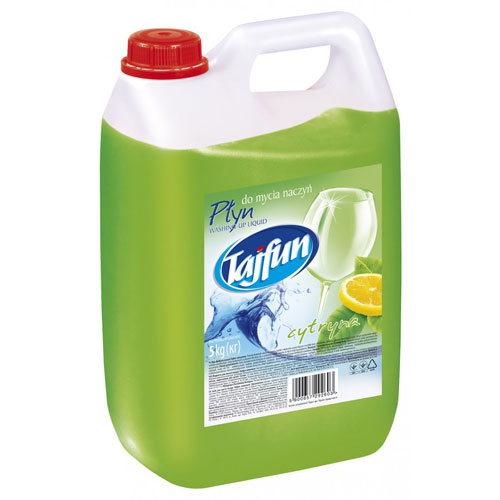 Płyn do mycia naczyń Tajfun cytrynowy 5kg