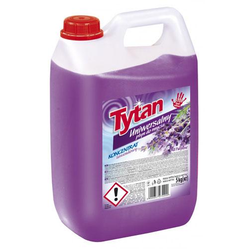 Uniwersalny płyn do mycia lawendowy Tytan koncentrat 5 kg
