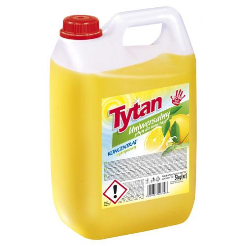 Uniwersalny płyn do mycia cytrynowy Tytan koncentrat 5 kg