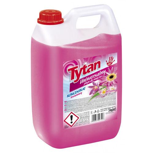 Универсальная жидкость для мытья Титан цветочная 5кг