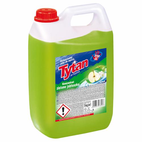 uniwersalny płyn do mycia zielone jabłuszko tytan koncentrat