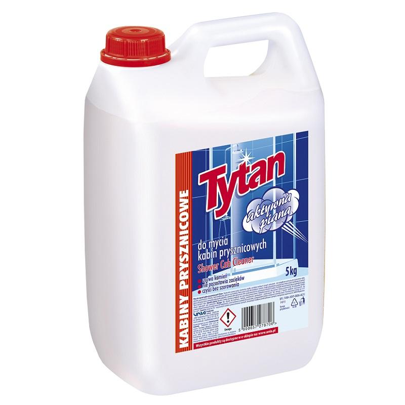 Płyn do mycia kabin prysznicowych Tytan 5kg