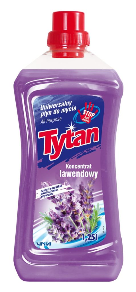Uniwersalny płyn do mycia lawendowy Tytan koncentrat 1,25 l