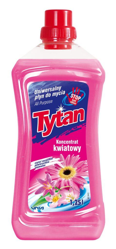 Uniwersalny płyn do mycia kwiatowy Tytan koncentrat 1,25 l