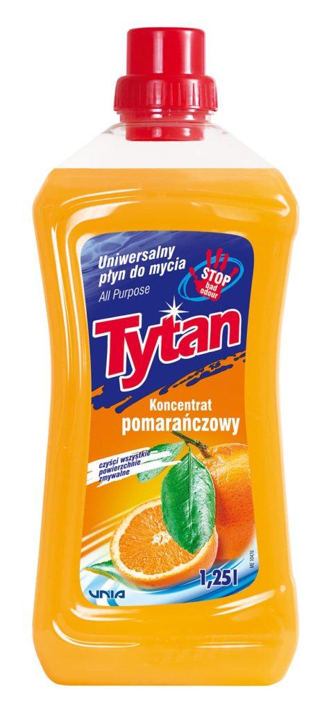 Uniwersalny płyn do mycia słodka pomarańcza Tytan koncentrat 1,25 l