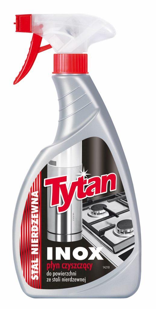 Płyn Tytan Inox stal nierdzewna spray 500g