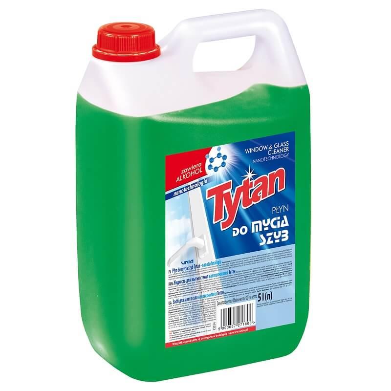 P27180 płyn do mycia szyb Tytan nanotechnologia 5,0L niska rozdzielczosc