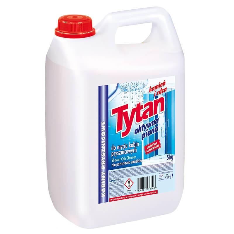 P27870 płyn do mycia kabin prysznicowych Tytan kamień i rdza 5,0kg (1)