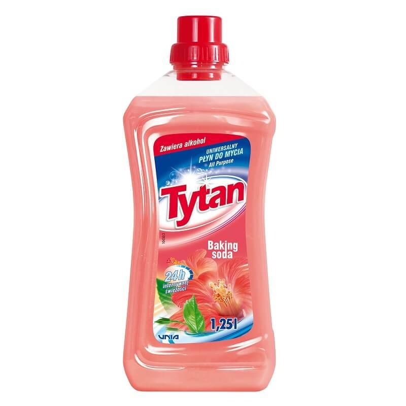 P23110 Tytan płyn uniwersalny do mycia baking soda 1,25L kwadrat