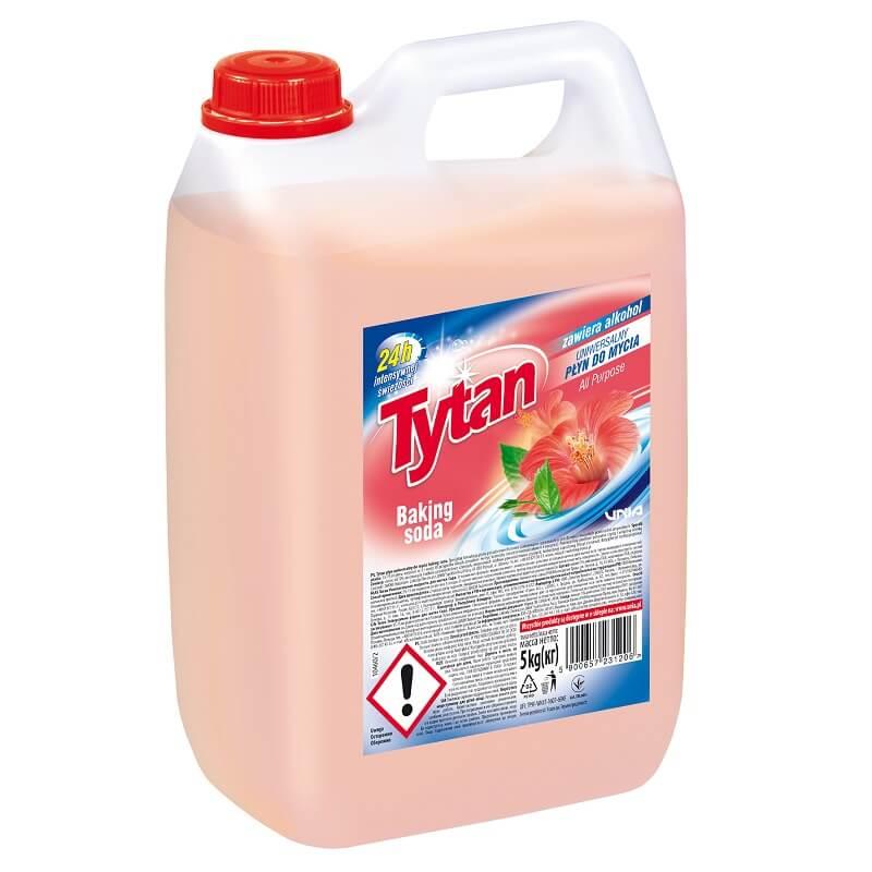 P23120 Tytan płyn uniwersalny do mycia baking soda 5,0kg kwadrat
