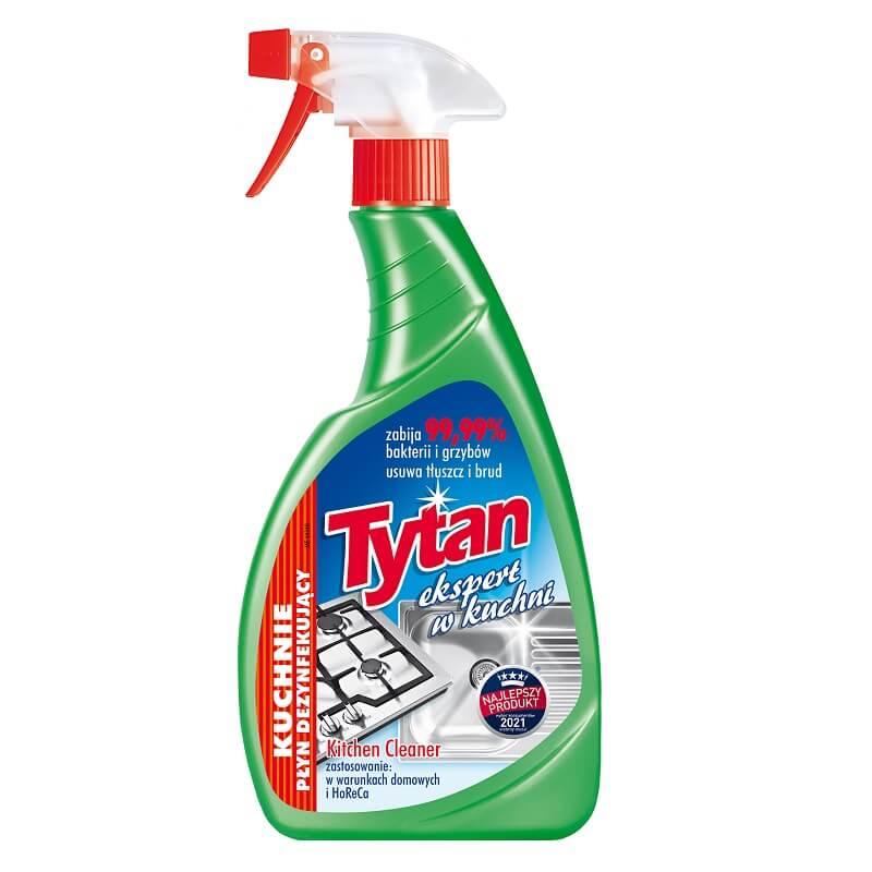 P275100 płyn dezynfekujący do mycia kuchni Tytan ekspert w kuchni spray 500g (1)
