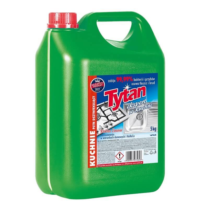 P275600 płyn dezynfekujący do mycia kuchni Tytan ekspert w kuchni 5,0kg
