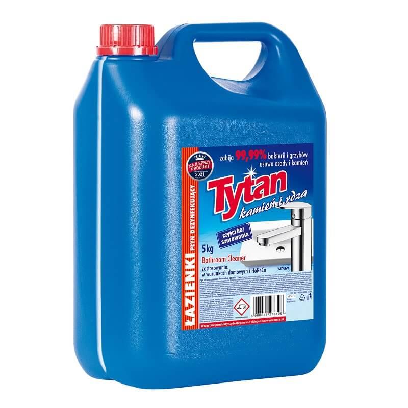 P278500 płyn dezynfekujacy do łazienek Tytan kamień i rdza 5,0kg