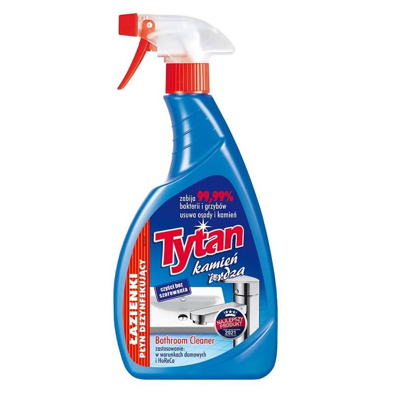 P278600 płyn dezynfekujacy do łazienek Tytan kamień i rdza spray 500g (1)